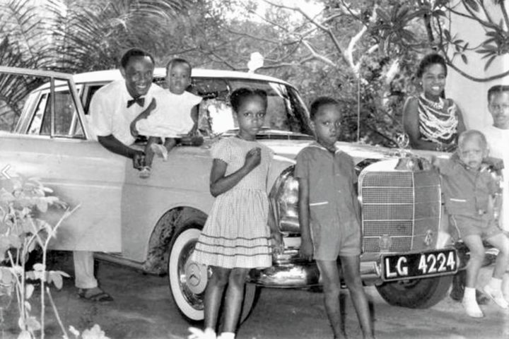 See The First Nigerian Obstetrician & Gynaecologist And His Mercedes Benz (Pics)