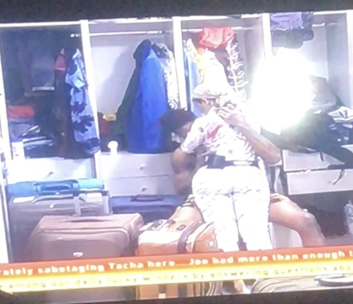 BBNaija: Ike And Mercy Have Sex Under The Duvet