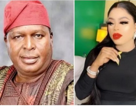"""I roll with your boss in government not someone in your level"" Bobrisky drags NCAC boss, Olusegun Runsewe for threatening to deal with him ruthlessly"