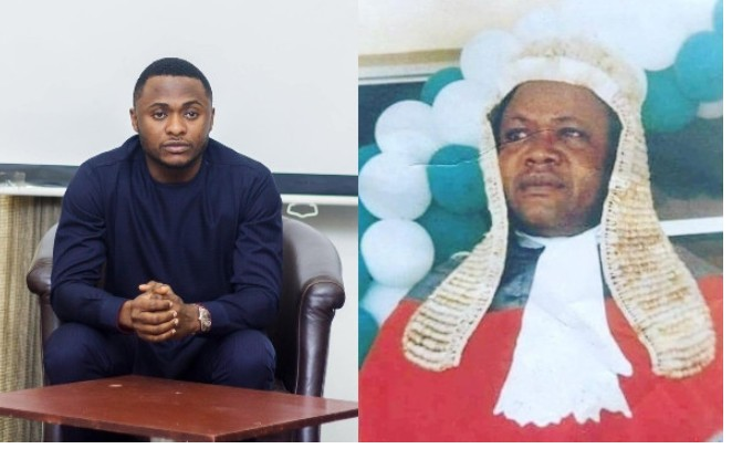 Ubi Franklin Remembers His Late Father (Photo)