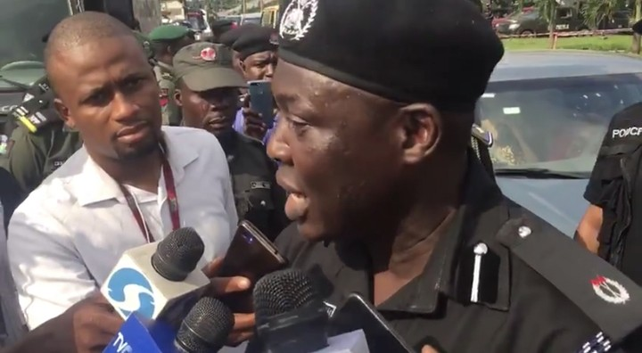 RevolutionNow: Police Revealed Why They Fired Teargas At Protesters