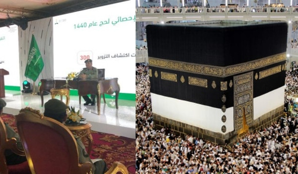 Saudi Arabia Concludes Arrival Stage Of 2019 Hajj, Records 1.8m Pilgrims