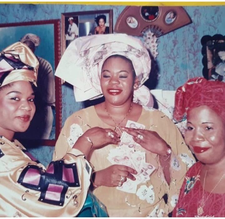 Controversial Celebrity Stylist, Toyin Lawani Celebrates Her Late Mum After 10 Years