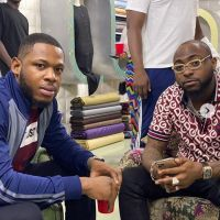 Frodd Hangs Out With Davido (Pictures) — Miss Petite Nigeria Blog