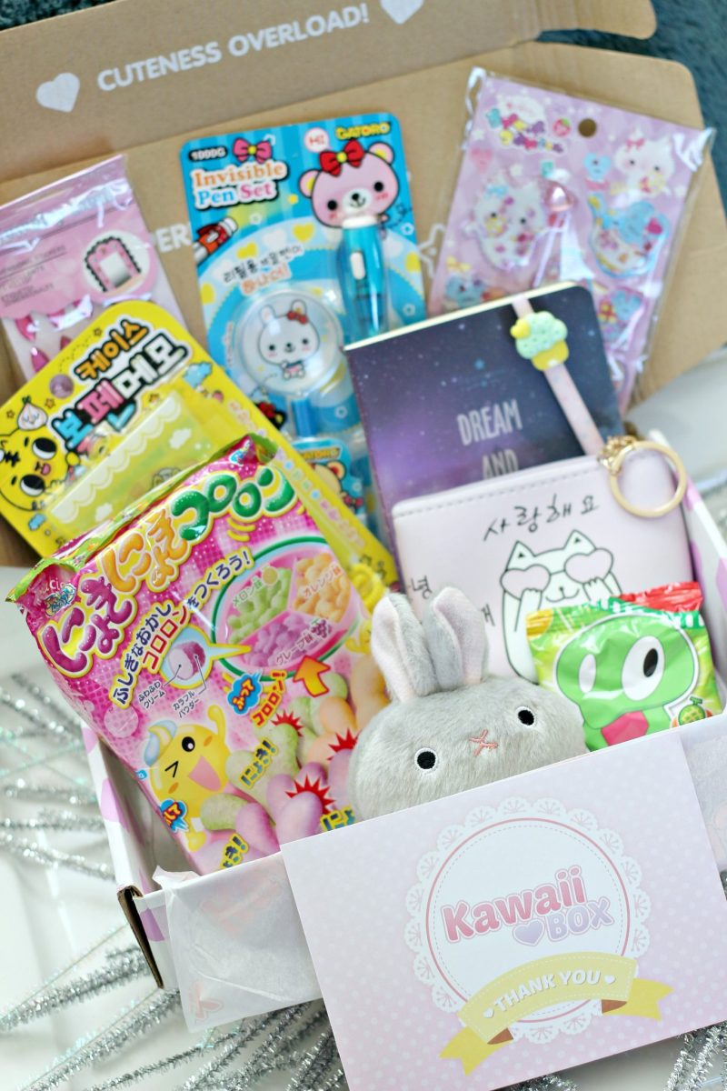 Review & Giveaway of the Cutest  Subscription Box Ever: Kawaii Box!