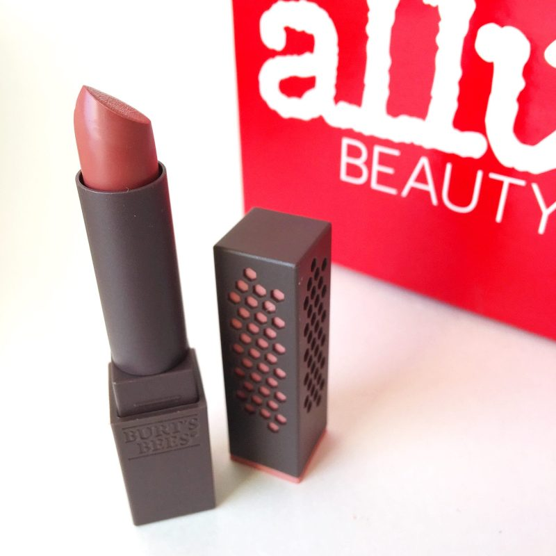 Burt's Bees Lipstick Review - Allure Beauty Box