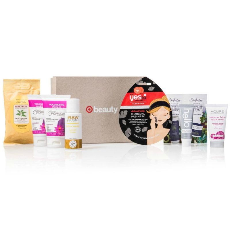 Target Beauty Box April Naturals