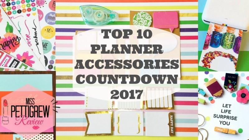 Top 10 Planner Accessories