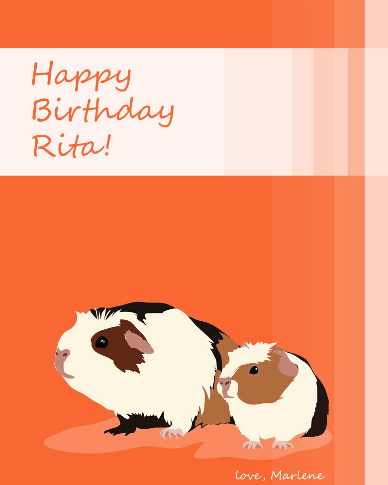 Happy Birthday Marlene Pixley