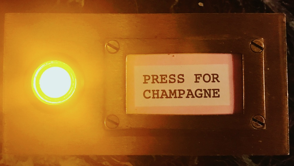 Bob Bob Ricard: Press for Champagne