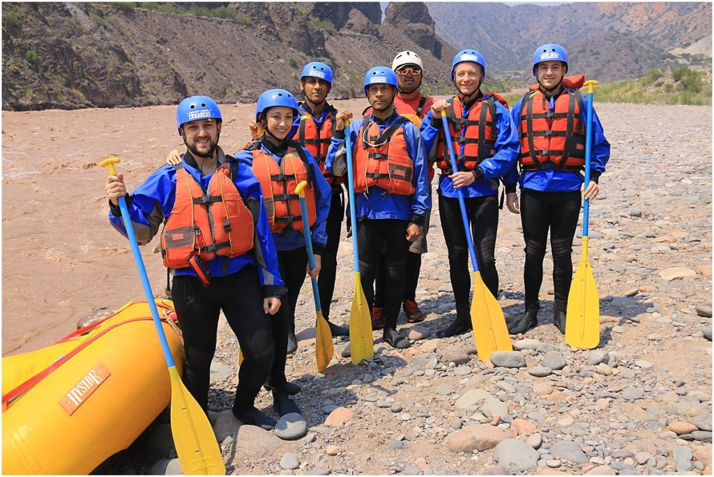 Argentina Rafting Team Photo