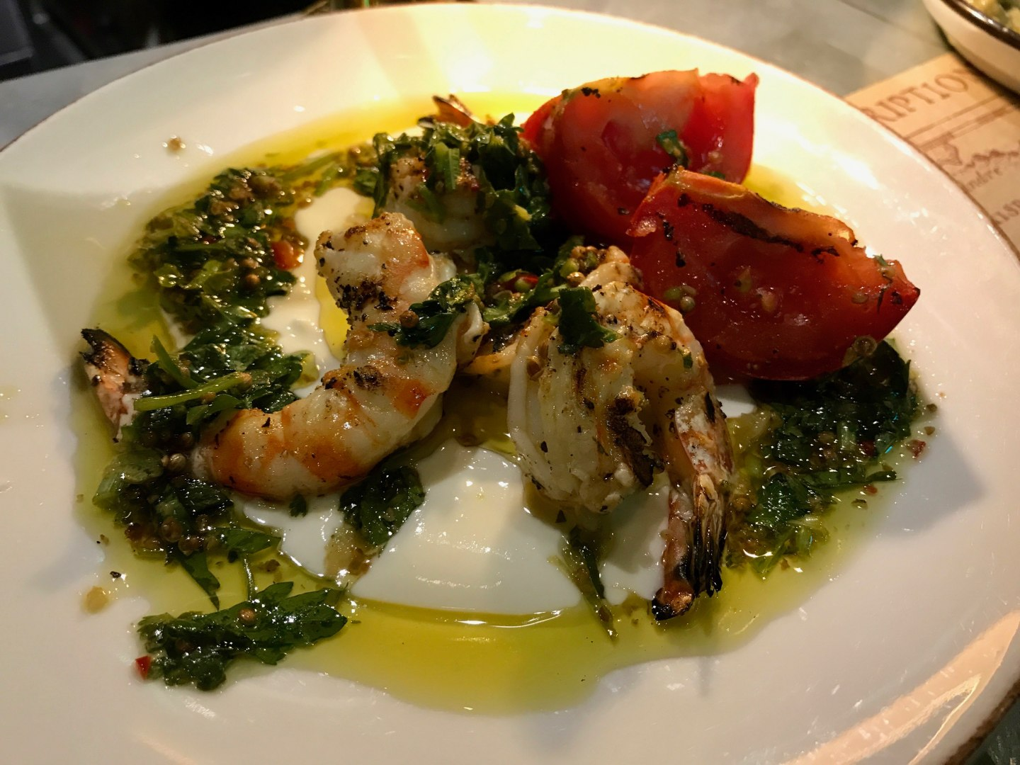 The Barbary Prawns