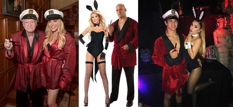 Hugh Hefner Halloween Costume ...  sc 1 st  Miss Portmanteau & Halloween Like Hollywood: Couples Costumes - Miss Portmanteau
