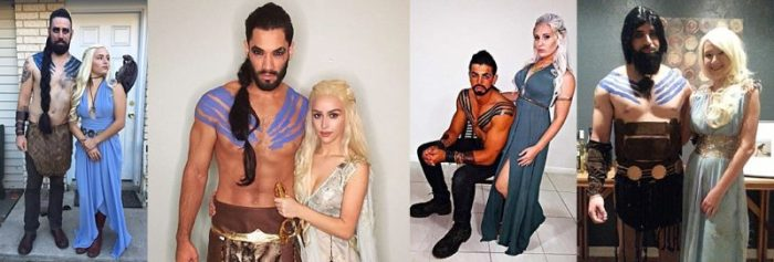 Khal and Khaleesi Halloween Costume