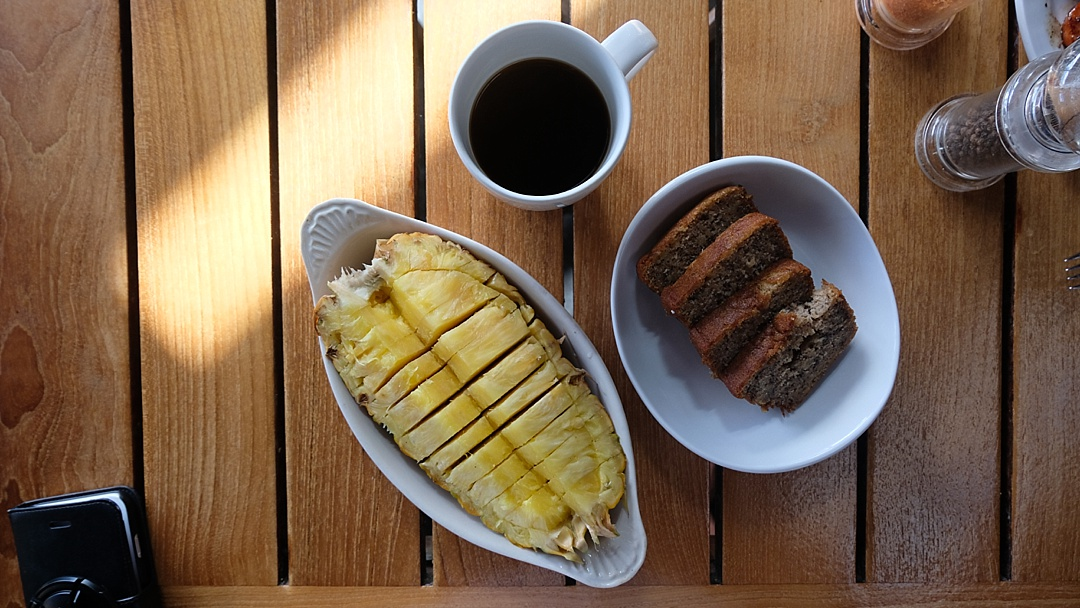 Hawaiian Banana Bread in Maui- The road to Hana maui - Road or destination? Guest Post by Lara Olivia Miss Portmanteau? Club Elsewhere - The World's Travel Diary edited by Rosie Bell