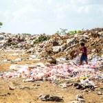 Waste plastic Garbage
