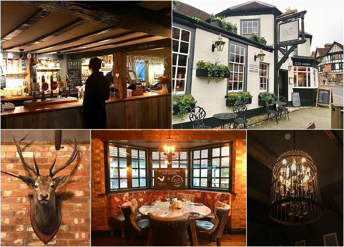 The Fox and Hound Pub in Lyndhurst
