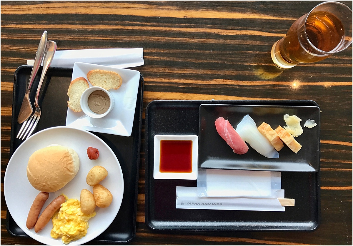 First Class Lounge Narita Airport Food