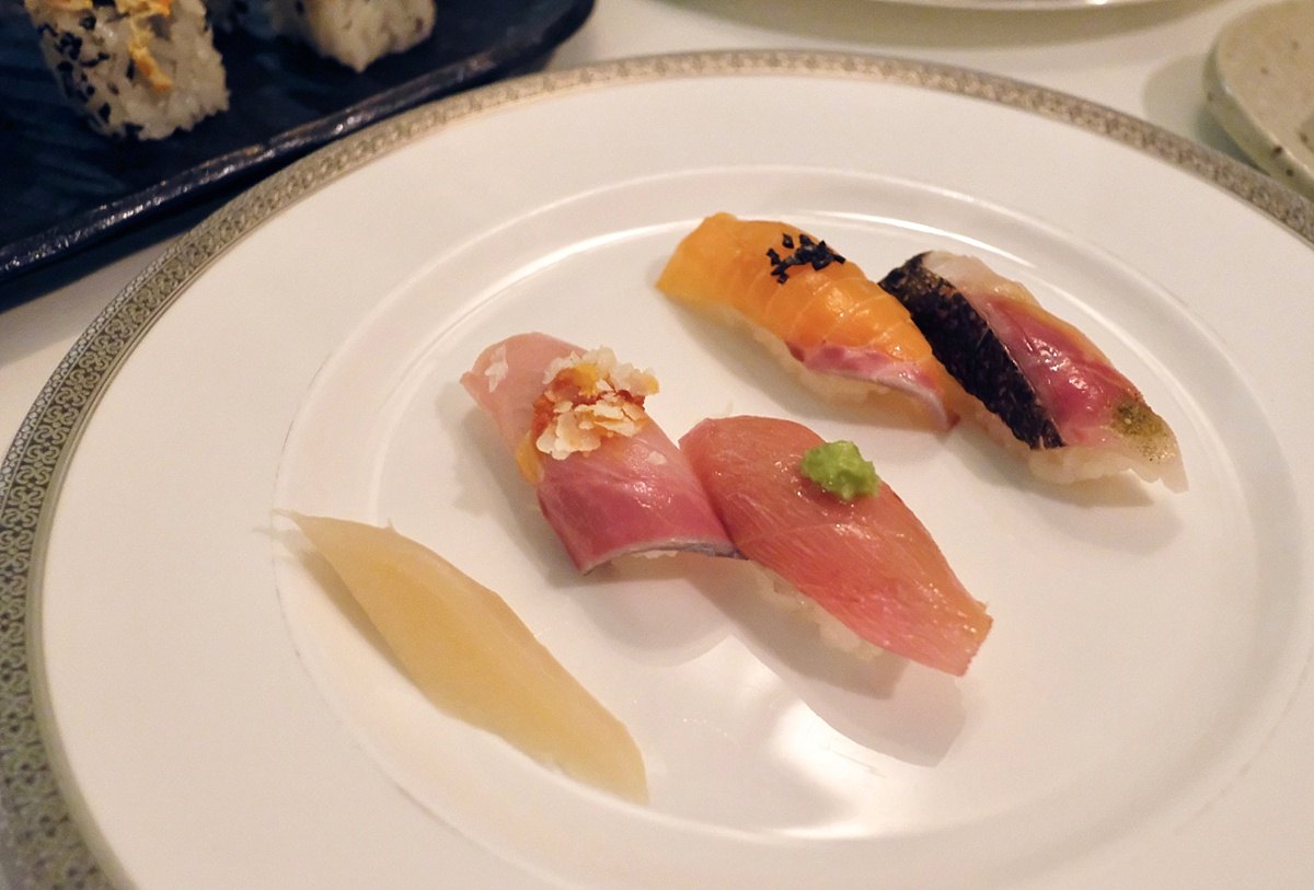 Omakase Nigiri Yashin- Yashin Ocean South Kensington- Yashin Ocean House London- Sushi without soy suace? Guest post by Lara Olivia Miss Portmanteau - Club Elsewhere- The world's travel diary - Rosie Bell Editor & travel writer - sushi omakase - London South Kensington Restaurants