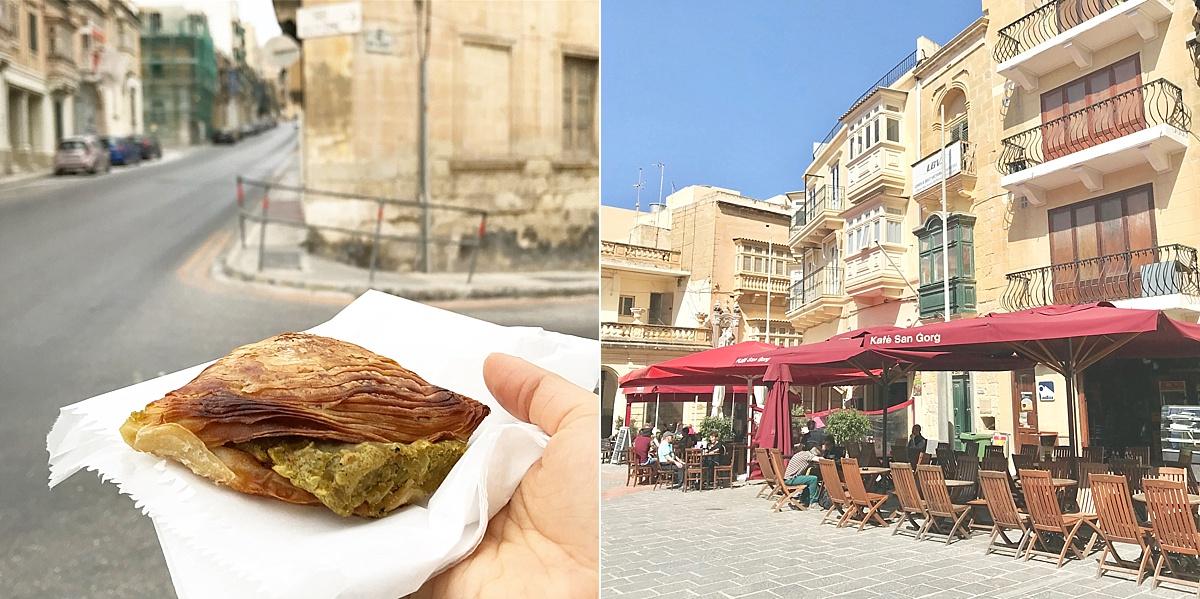 Maltese food pastizzi