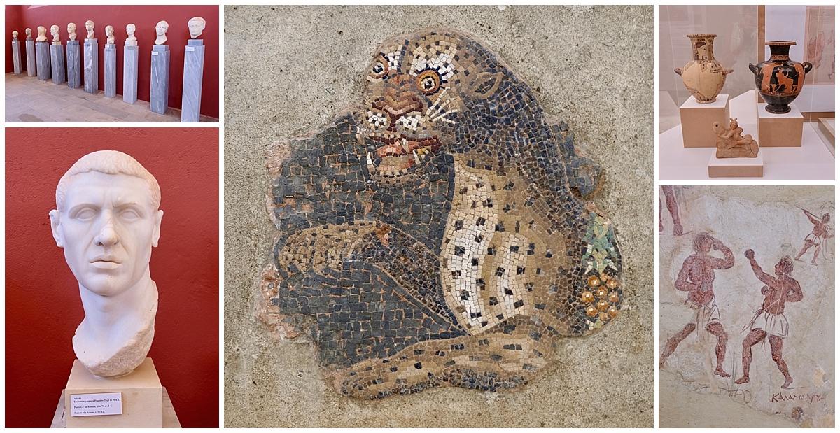 Delos Museum Artefacts