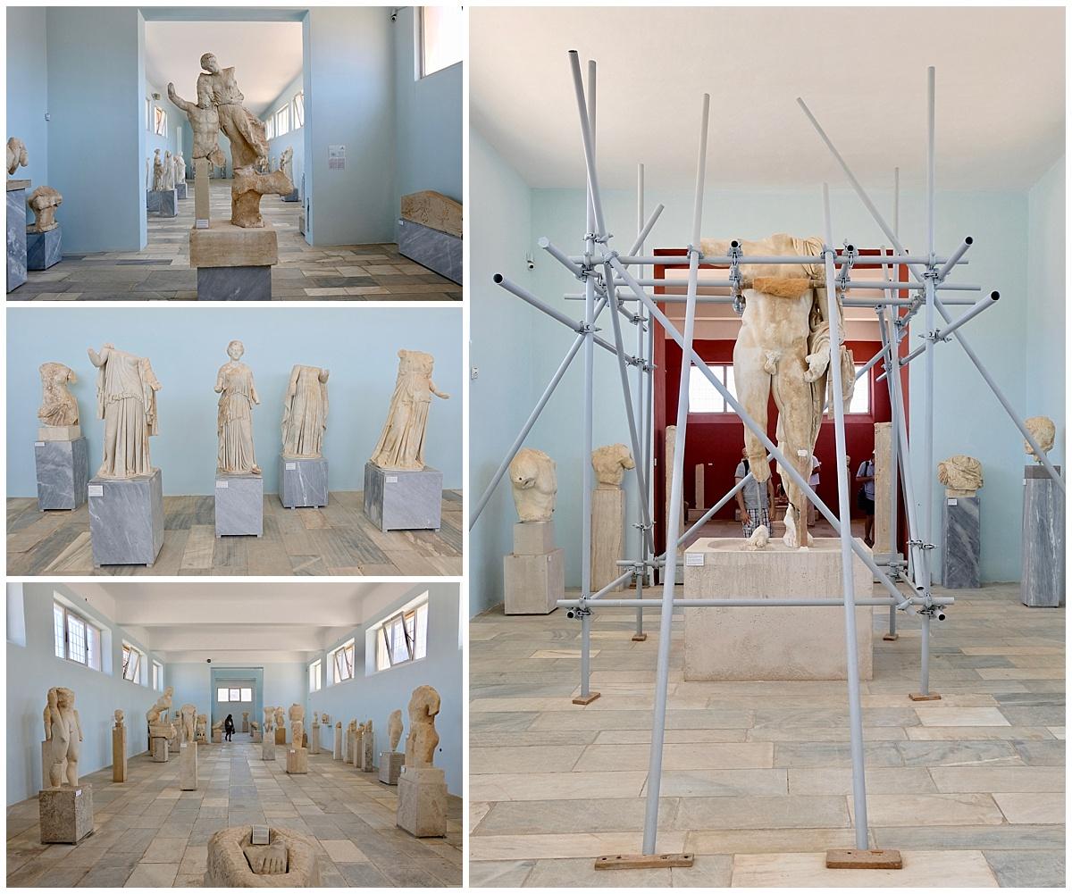 Delos Ancient Greek Statues