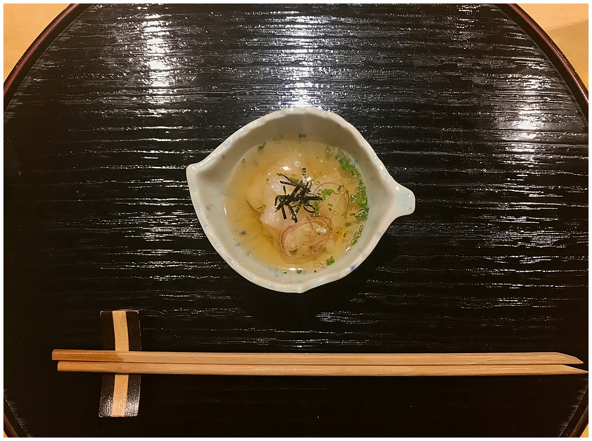 Sushi Tetsu squid noodles