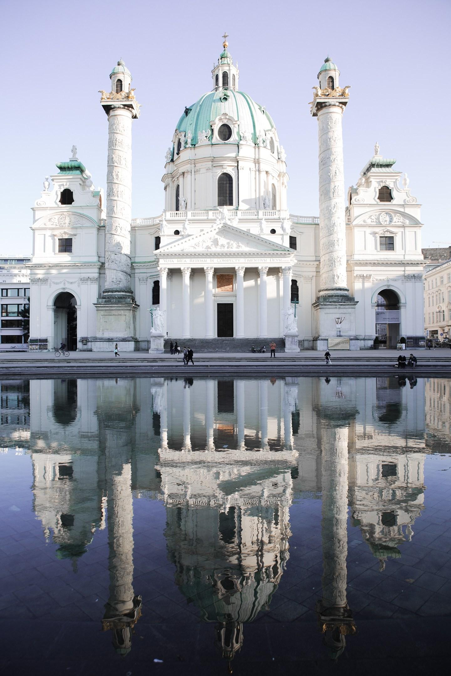 Vienna Karlskirche Instagram