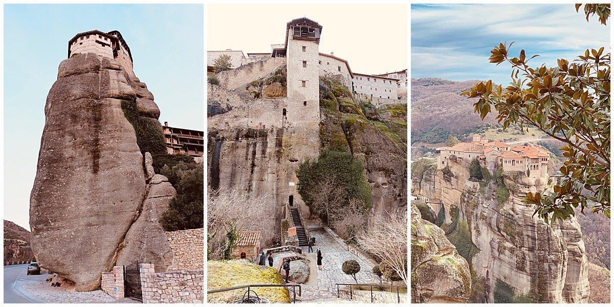 Meteora Monasteries Travel Guide Blogger