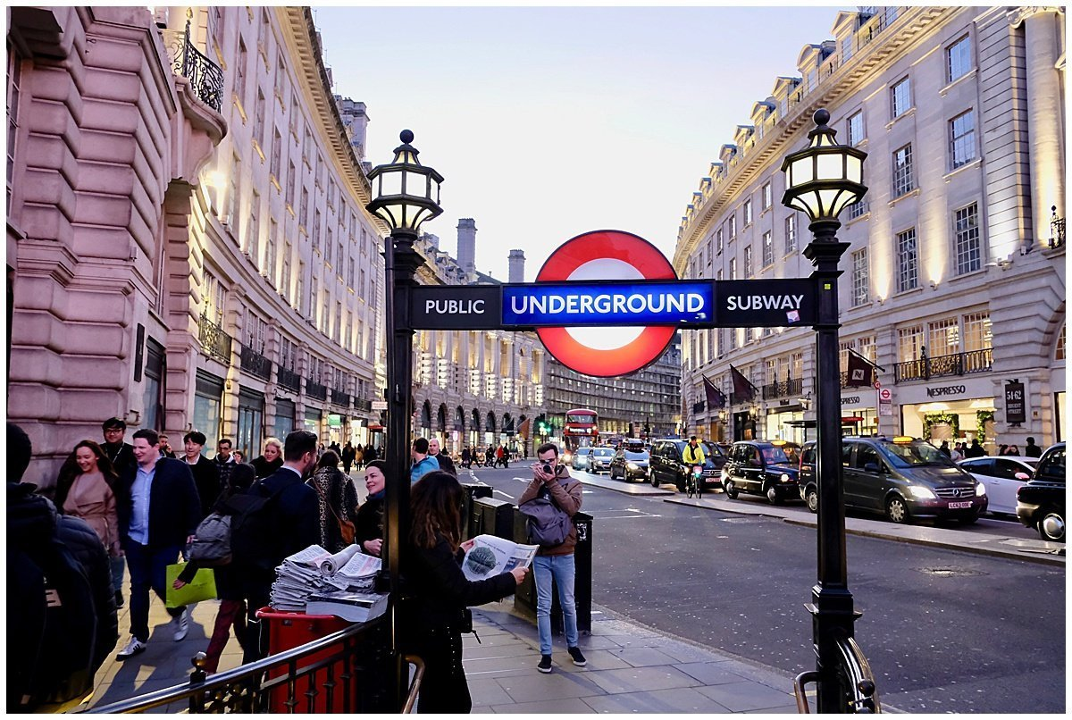 Piccadilly Station Regents Street London