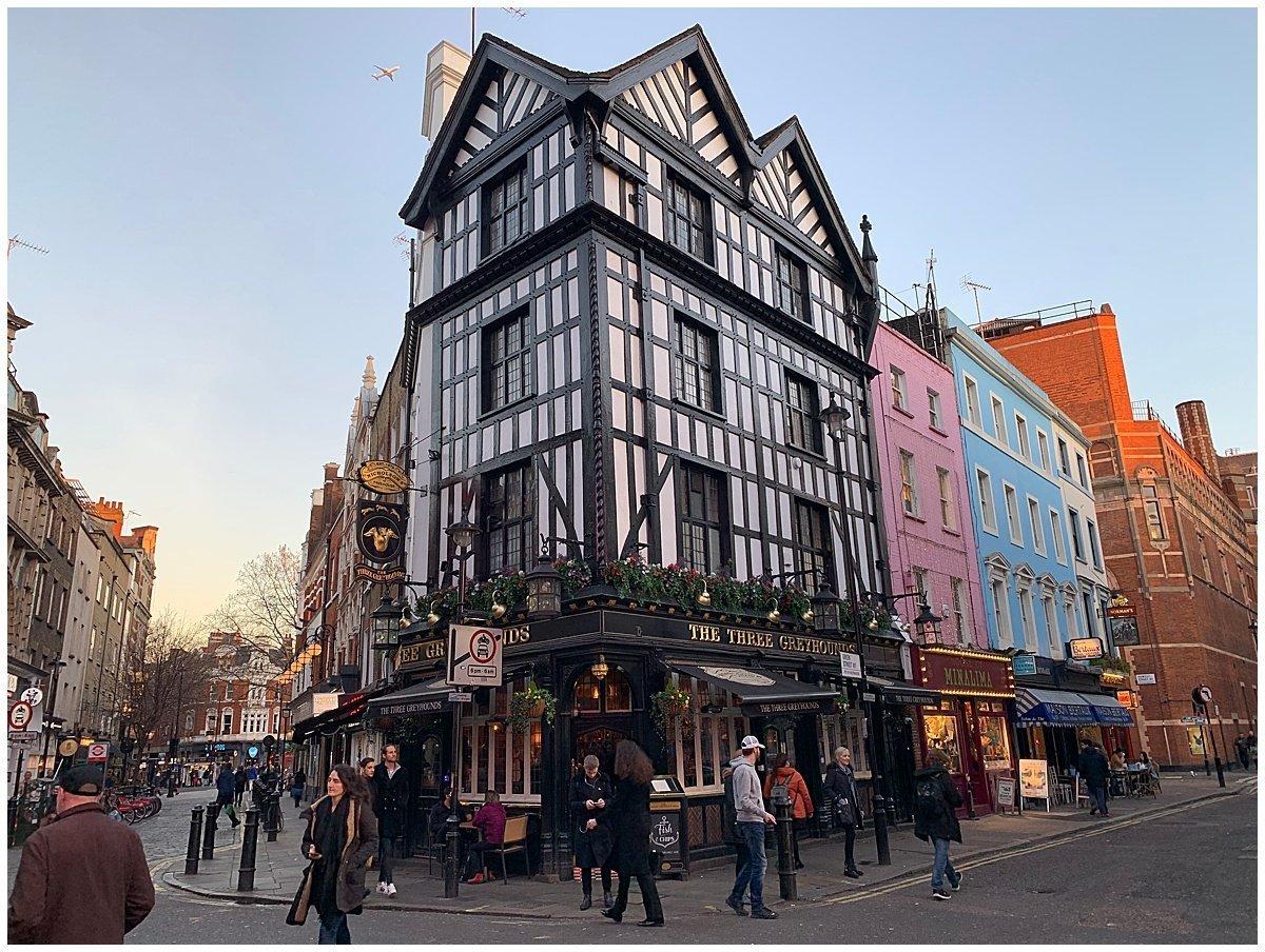 Soho London Tudor