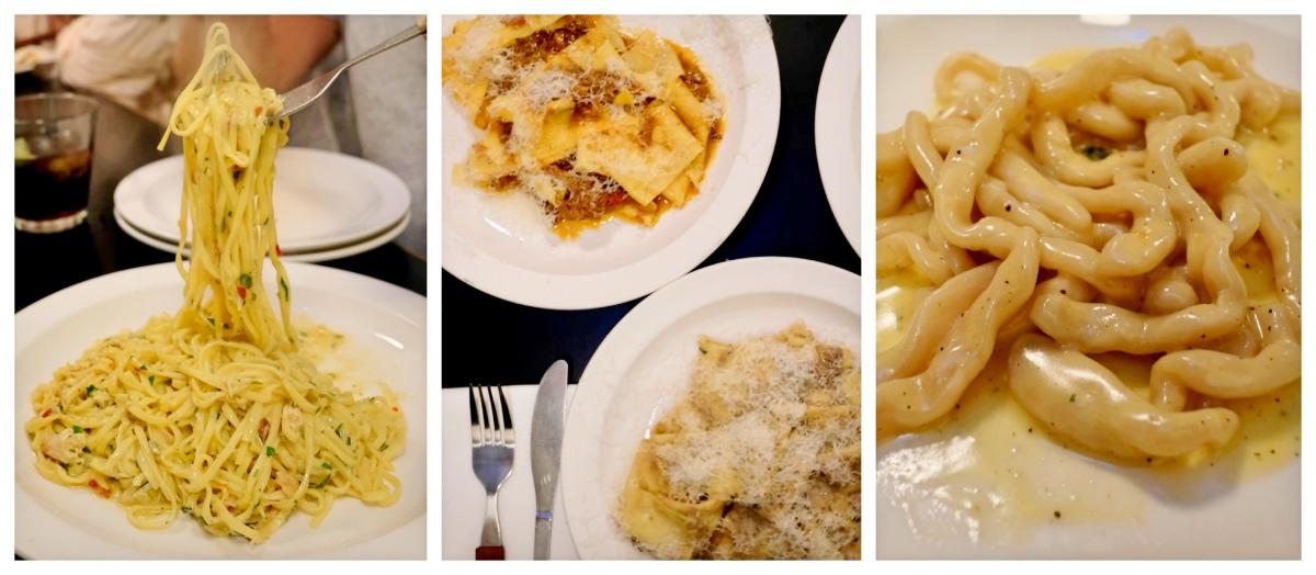 Padella Pasta Dishes