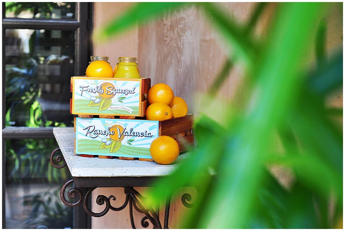 Rancho Valencia Orange Juice
