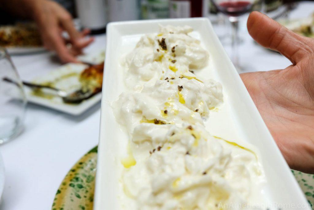 Burrata cheese pregnant