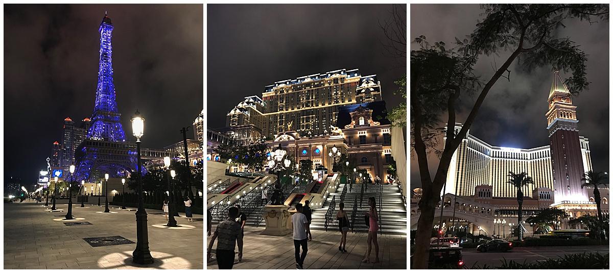 Cotai Strip in Macau