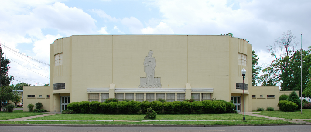 Civic Auditorium--built as a WPA project in 1939 and designed by none other than Jackson architect E.L. Malvaney