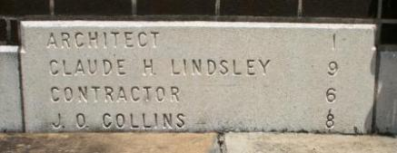 FNB corner stone 1968