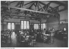 Cafeteria, Hostess House Camp Mills, N.Y.