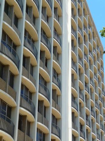 Bay Details Santa Maria del Mar Apartments, East Elevation. Biloxi, MS. May 2011