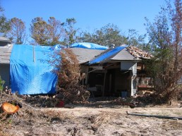 West elevation. Charnley Norwood House. Ocean Springs Jackson County. MDAH 11-30-2005 from MDAH HRI db accessed 8-24-2014
