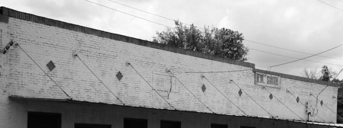 brickwork and parapet