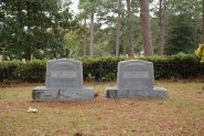 Graves of Dr. and Mrs. Boswell.