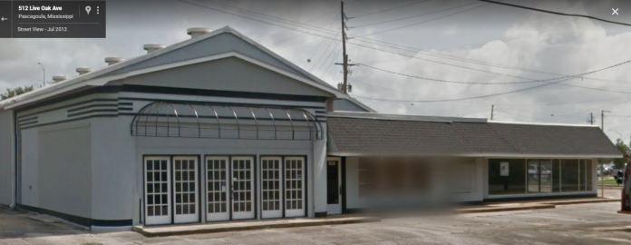 former Pan Am Station Pascagoula, Mississippi 2013 Google Streetview