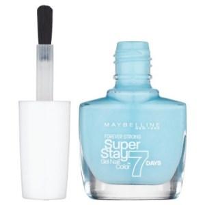 Pinta uñas super stay gel 7 días número 20 de la marca Maybelline. Fórmula de larga duración, tus uñas no perderán su brillo ni color hasta por 7 días.