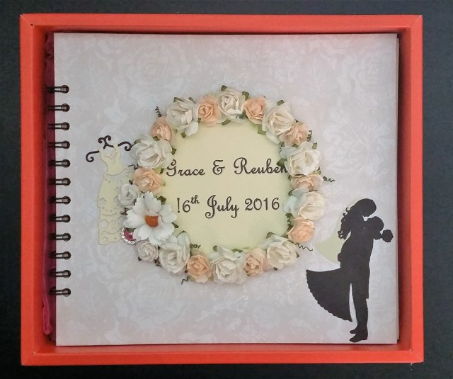 Wedding Guest Book in box