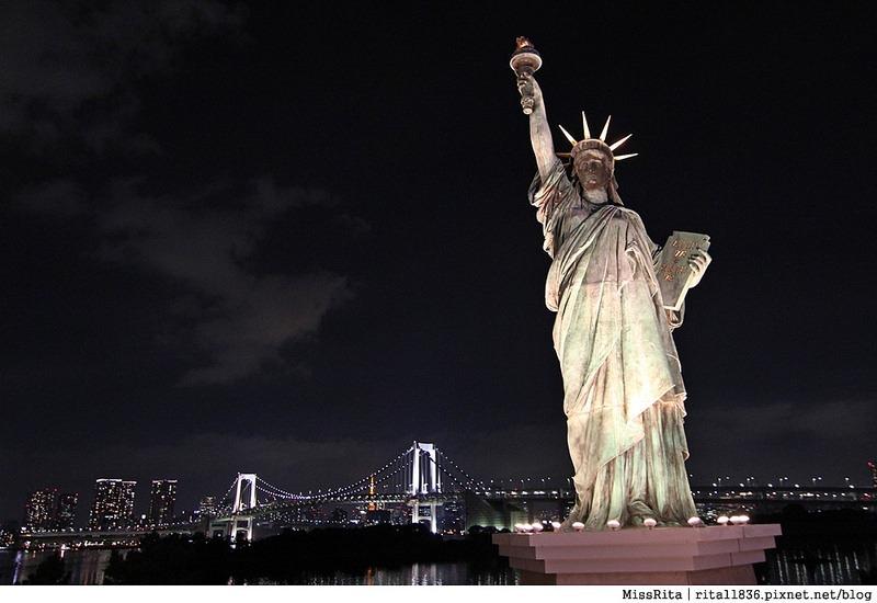 日本台場 鋼彈 彩虹大橋 自由女神 景點18