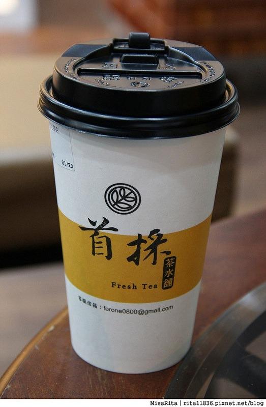台中飲料 首採茶水鋪 潭子潭興店23