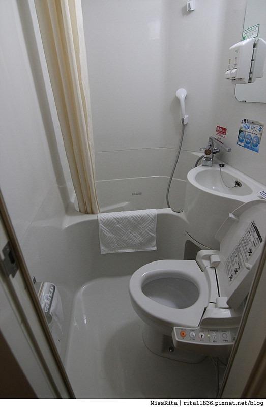 日本青物橫丁 Super hotel 平價住宿 三人房IMG_1836-7