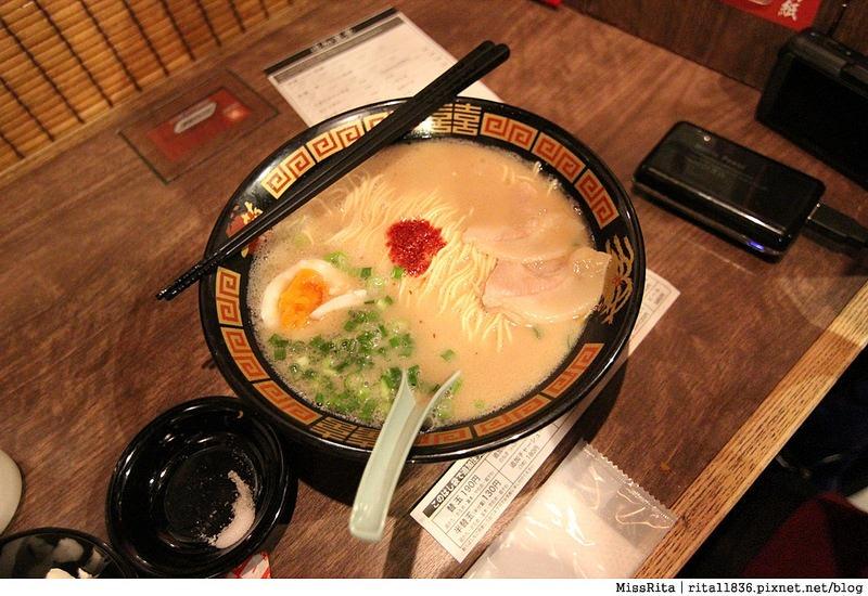 東京美食 日本拉麵 一蘭拉麵 新宿一蘭拉麵 日本必吃4
