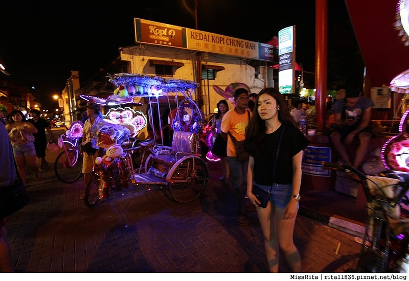馬來西亞 馬六甲好玩 雞場街 雞場街夜市 地理學家咖啡館52